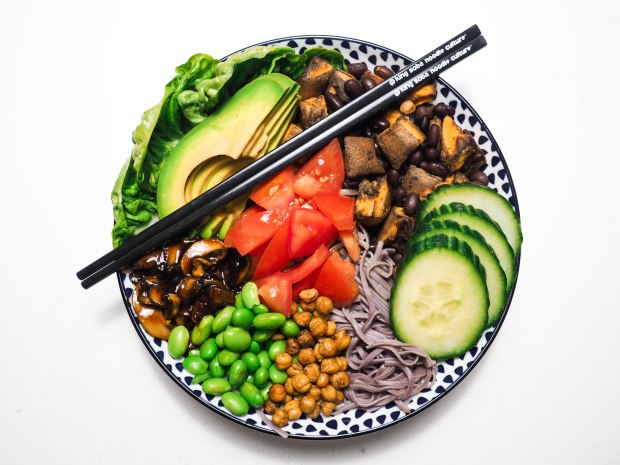Healthy Vegan Glutenfree Buddha Bowl