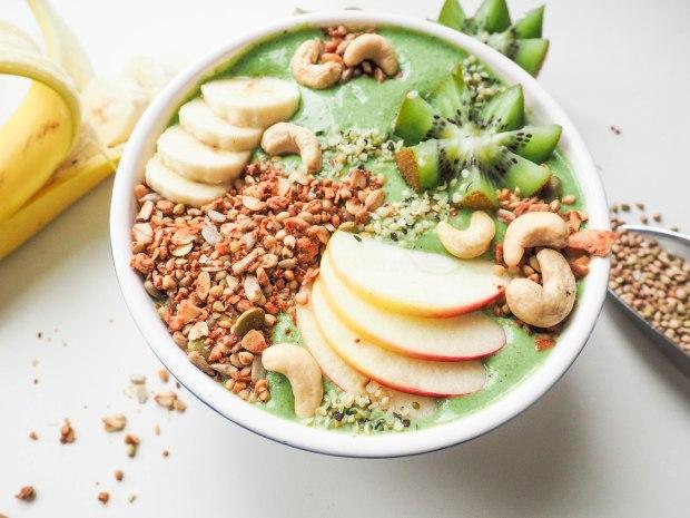 Green Smoothie Buckwheat Bowl