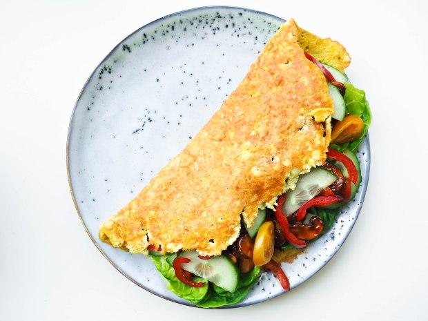 Vegan Tofu Omelette