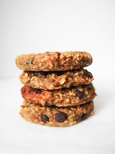 Healthy Banana Oat Cookies