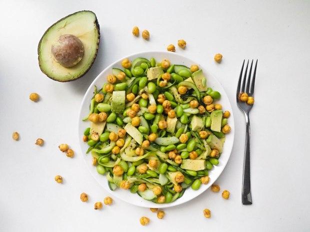 Green Power Zucchetti Salad