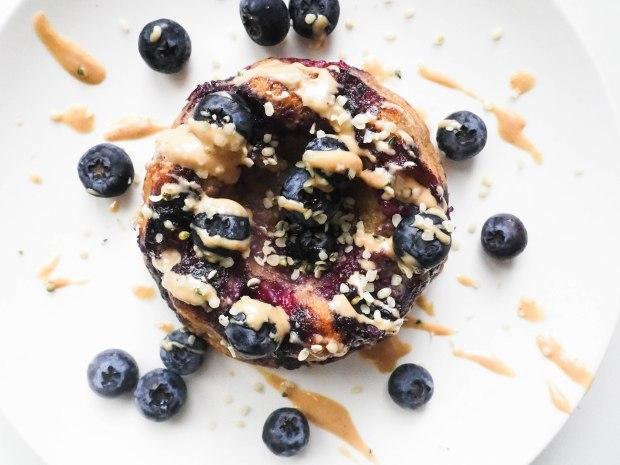 SkinFood Sunday Oatmeal Blueberry Mugcake