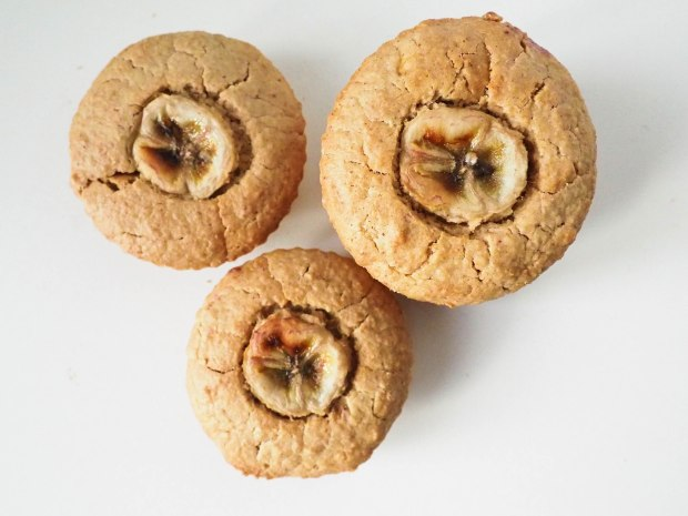 Vegan PB & Banana Muffins