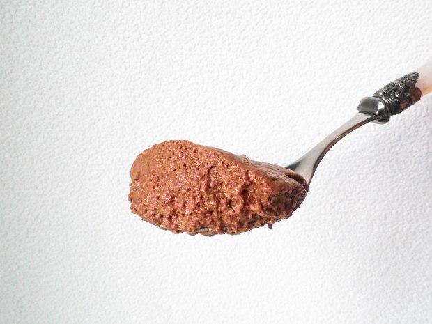 Vegan Chocolate Mousse Spoon