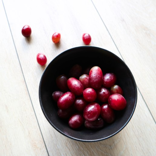 SkinFood Sunday Red Grapes in a Bowl