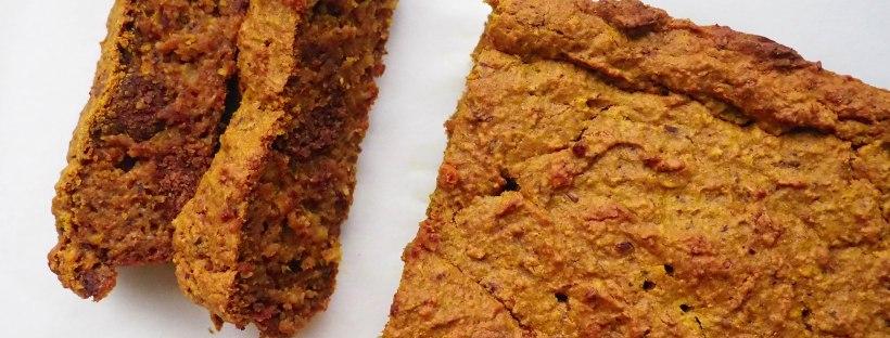 Pumpkin Pepernoten Bread Sliced Top