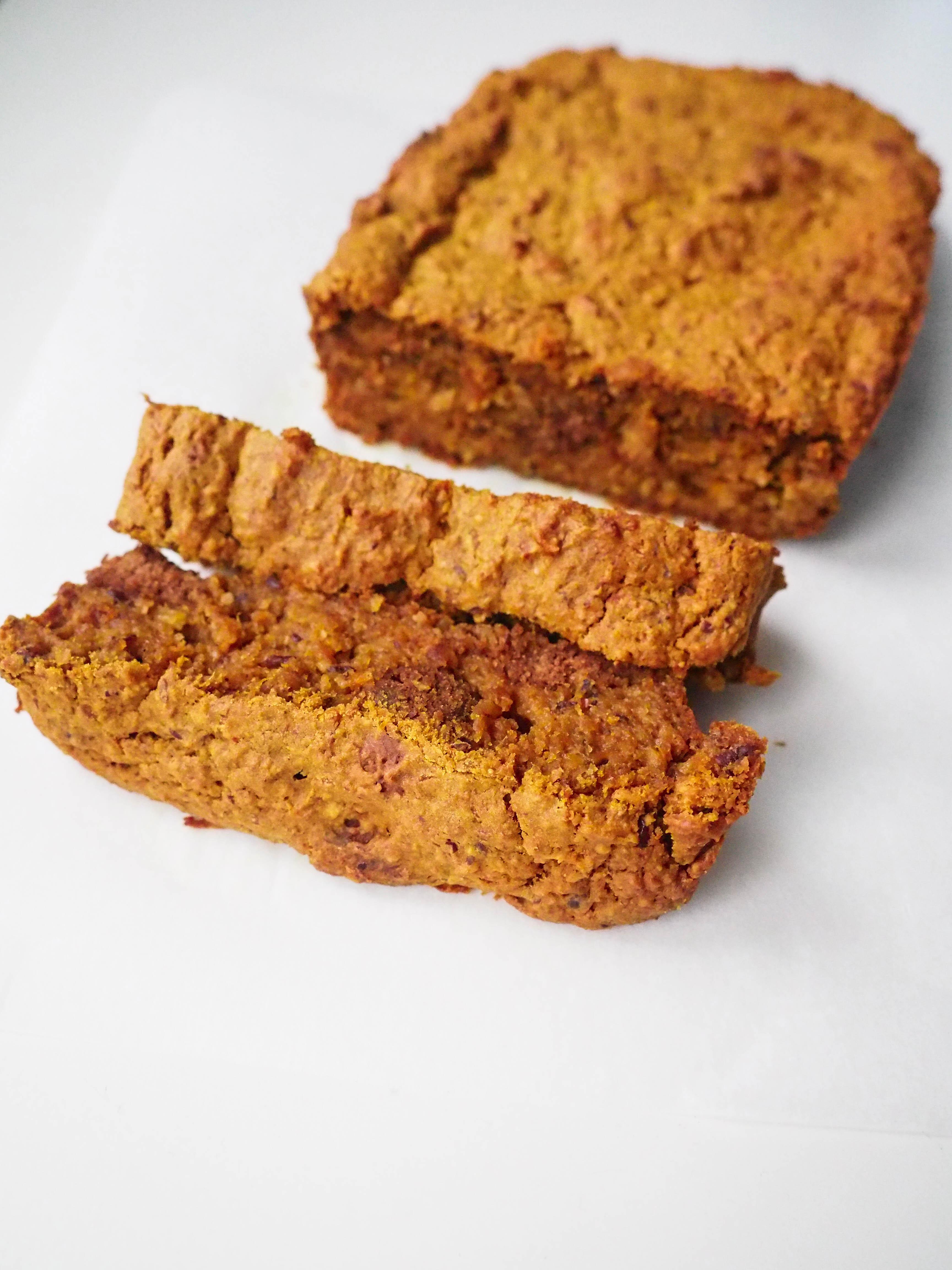 Pumpkin Pepernoten Bread Sliced