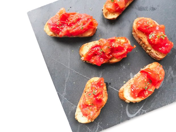 SkinFood Sunday Olive Oil Tomato Bruschetta